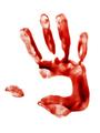 Bloody hand print - PhotoDune Item for Sale