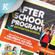 After School Program Flyer Template - GraphicRiver Item for Sale