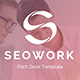 SeoWork Pitch Deck 2019 Powerpoint Template - GraphicRiver Item for Sale