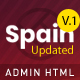 Spain –  Bootstrap4 Admin Dashboard  Responsive Multipurpose Template - ThemeForest Item for Sale