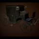 Low Poly Victorian Carriage - 3DOcean Item for Sale