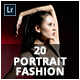 20 Portrait Fashion Lightroom Presets - GraphicRiver Item for Sale