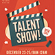 Talent Show Flyer - GraphicRiver Item for Sale