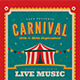 Retro Carnival Event Flyer - GraphicRiver Item for Sale