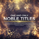 Noble Titles - VideoHive Item for Sale