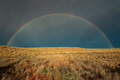 Rainbow landscape - Kalahari desert - PhotoDune Item for Sale