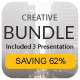 Creative Bundle 3 in 1 Powerpoint - GraphicRiver Item for Sale