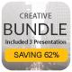 Creative Bundle 3 in 1 Keynote - GraphicRiver Item for Sale