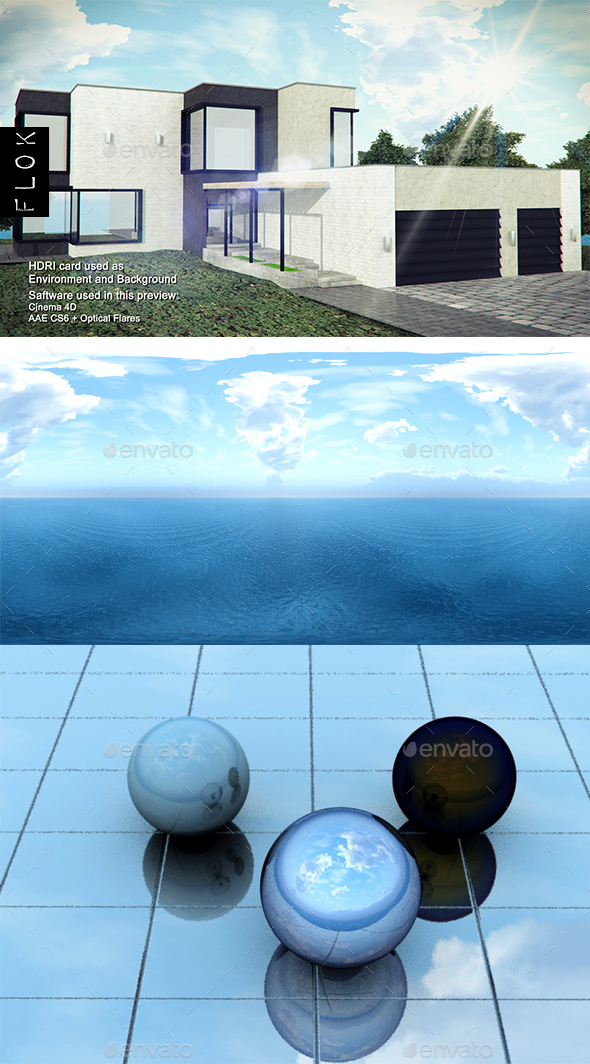 Daylight Sea 19 - 3DOcean Item for Sale