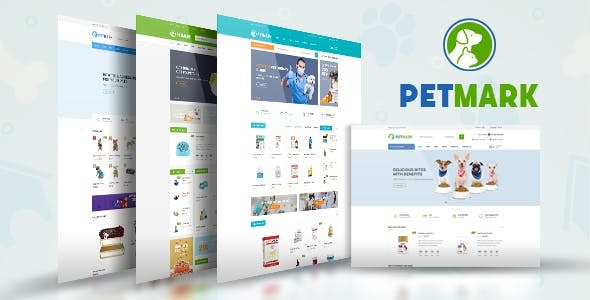 Petmark - Pet Care & Veterinary Bootstrap Template - Shopping Retail