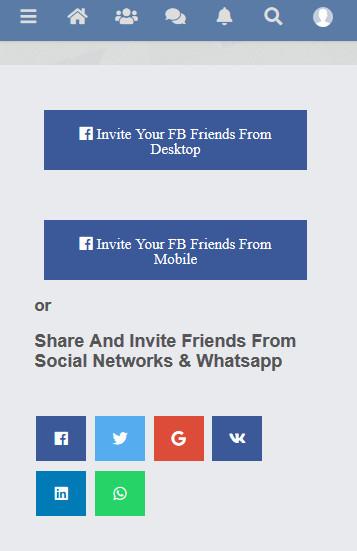 Facebook Invite Addon For Sngine - 4