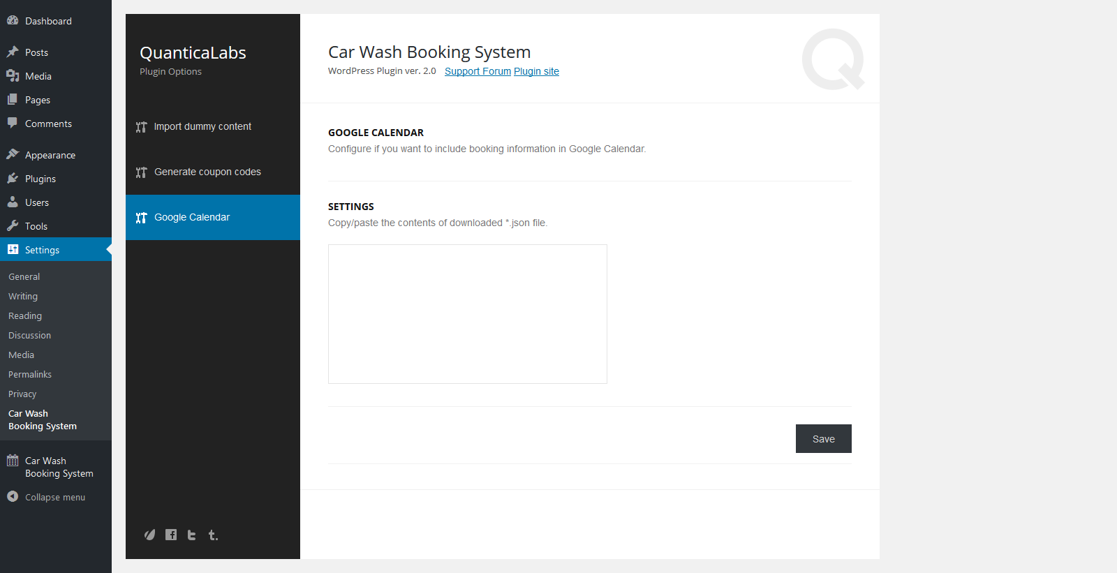 Car Wash Booking System For WordPress