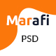 Marafi - Digital Marketing Agency PSD Template - ThemeForest Item for Sale