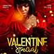 Valentine Special Flyer Template - GraphicRiver Item for Sale