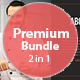 Premium Presentation Bundle 2 in 1 - GraphicRiver Item for Sale