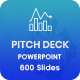 Bundle 2 in 1 Startup Pitch Deck Powerpoint Template - GraphicRiver Item for Sale