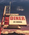 Retro Vintage Motel Diner Sign - PhotoDune Item for Sale