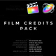 Film Credits Pack for Apple Motion and FCPX - VideoHive Item for Sale