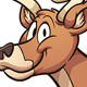 Cartoon Deer - GraphicRiver Item for Sale