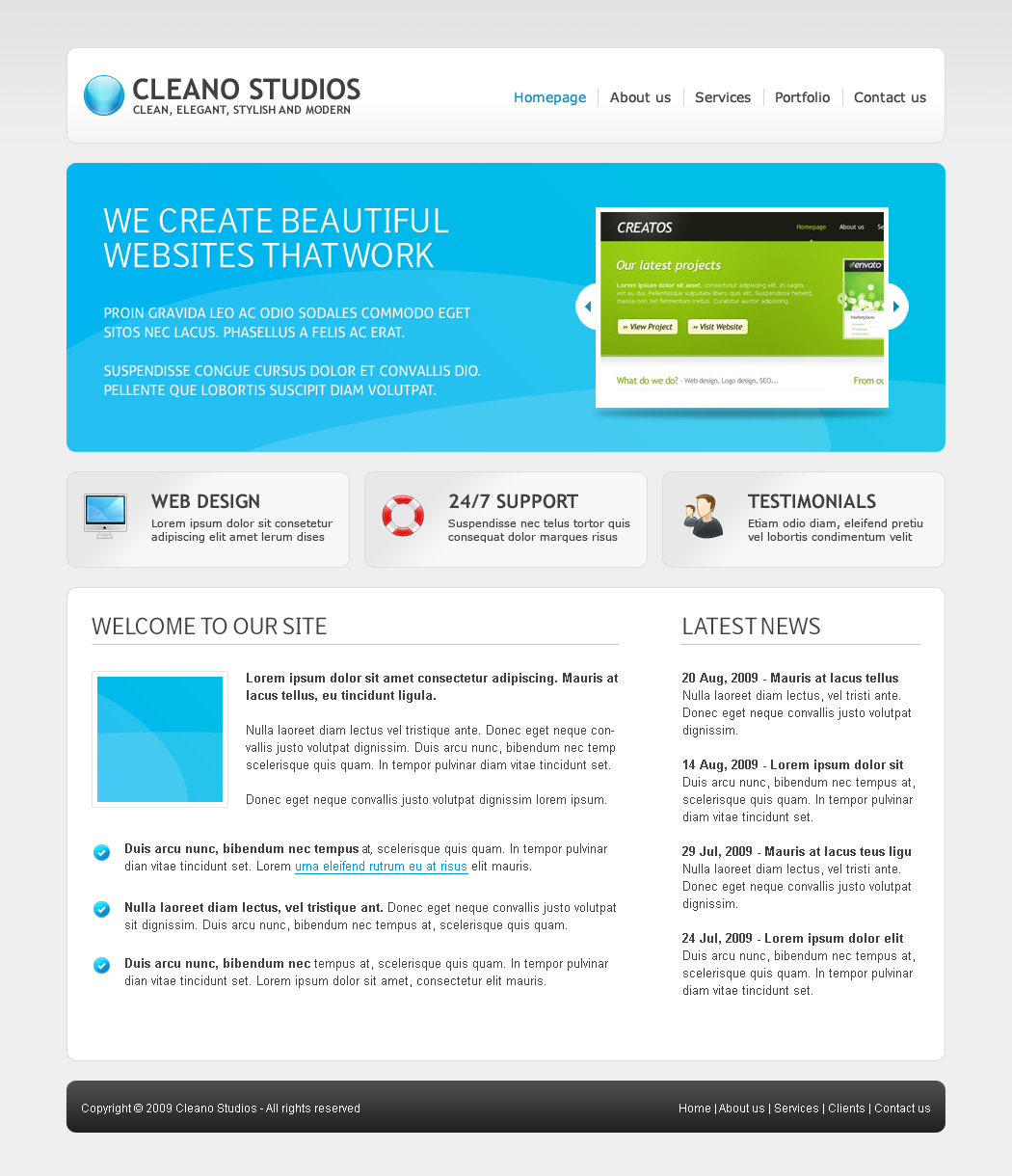 Free Download Cleano Studios WordPress Version Nulled Latest Version