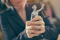 State attorney holding statue of Justice - PhotoDune Item for Sale