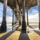 Underside of Huntington Beach pier - PhotoDune Item for Sale