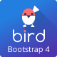 BIRD (Pro) - Multipurpose Responsive Admin Dashboard HTML5 Web App Kit with Bootstrap 4 - ThemeForest Item for Sale