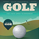 Golf Tournament Event Flyer - GraphicRiver Item for Sale