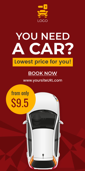 Car Rental Html5 Banners Ad Gwd Psd By Idoodle Codecanyon