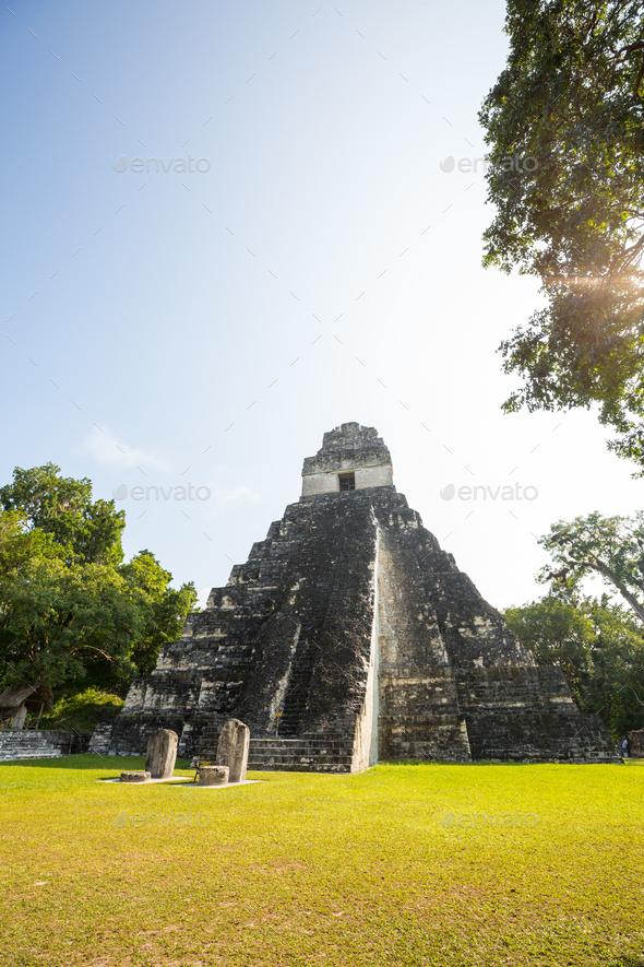 Tikal - Stock Photo - Images