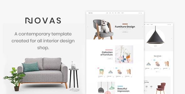 Novas | Furniture Store and Handmade Shop HTML5 Template - Shopping Retail
