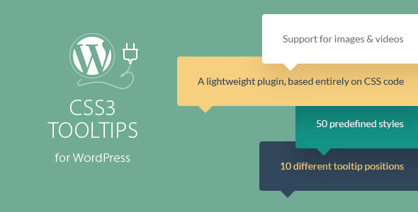CSS3 Tooltips For WordPress - CodeCanyon Item for Sale