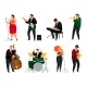 Jazz People Set - GraphicRiver Item for Sale