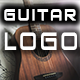 Stylish Logo with Drive Acoustic Guitar