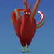 Rooster Rigged 3D Model - 3DOcean Item for Sale