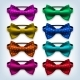 Bow Tie Set Vector - GraphicRiver Item for Sale