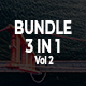 Bundle 3 in 1 Google Slides Template Vol 2 - GraphicRiver Item for Sale