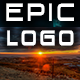 Epic Cinematic Promo Logo with Strings