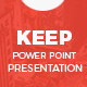 Keep Power Point Presentation Template - GraphicRiver Item for Sale