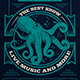Marine Octopus Flyer Template - GraphicRiver Item for Sale