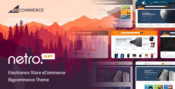 Electronics Store Bigcommerce Theme by wikitemplate