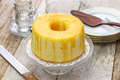 homemade orange chiffon cake - PhotoDune Item for Sale