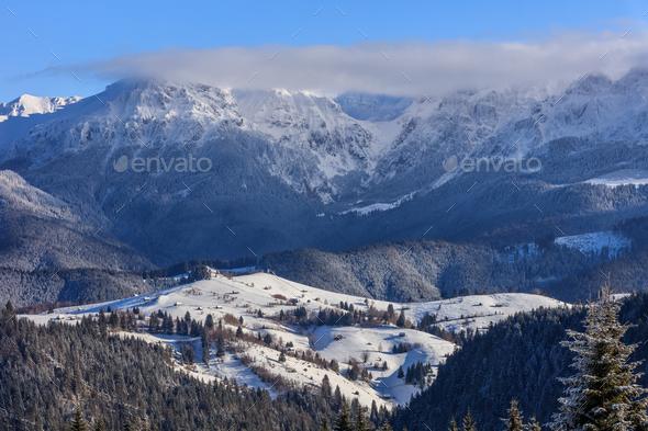 Bucegi Mountains Romania - Stock Photo - Images