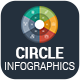 Circle Infographics PowerPoint Template Diagrams - GraphicRiver Item for Sale