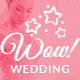 WoWedding - Wedding Oriented HTML Website Template - ThemeForest Item for Sale