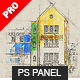 Architectum 3 - Archi Sketcher Photoshop Plugin - GraphicRiver Item for Sale