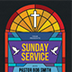 Sunday Service Church Event Flyer - GraphicRiver Item for Sale