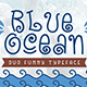 Blue Ocean - Baby Font - GraphicRiver Item for Sale