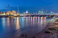 The St Pauls cathedral, Blackfriars Bridge and the City of London - PhotoDune Item for Sale