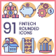 Fintech Icons - Butterscotch